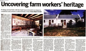 Business Day Homefront - Solms-Delta Staff Housing - 29 Apr 11