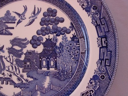 Willow Pattern close up