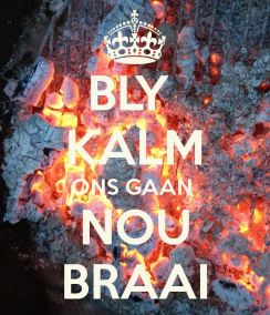 Braai Day mantra